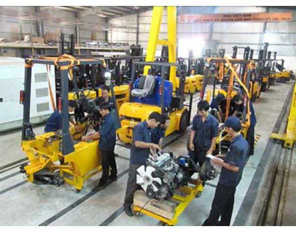 Sửa chữa xe nâng điện - 082 386 1122